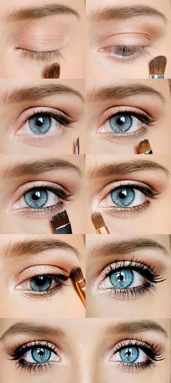 Get Kristen Bell's Glam Eyes