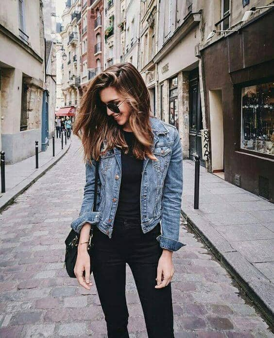 Nostalgic Denim via Sleek in Black