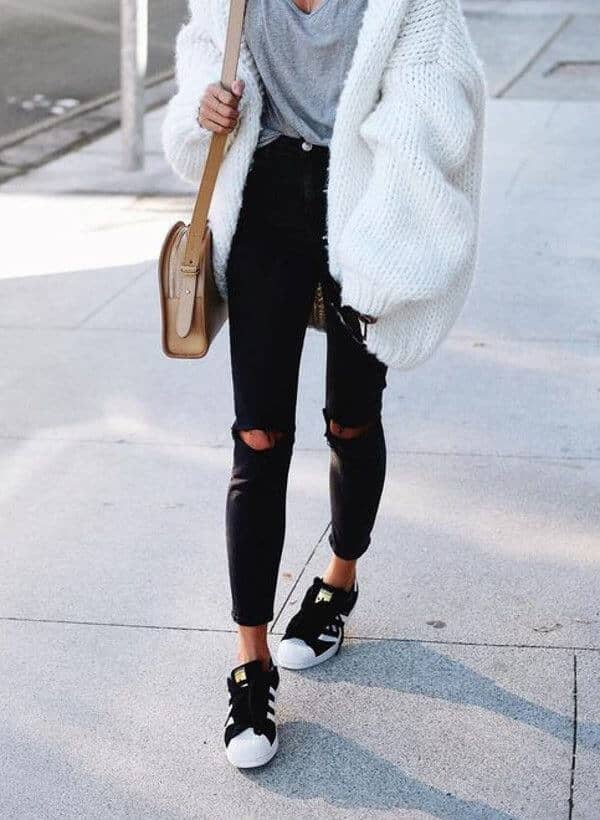 Chic Cloud White Street Style