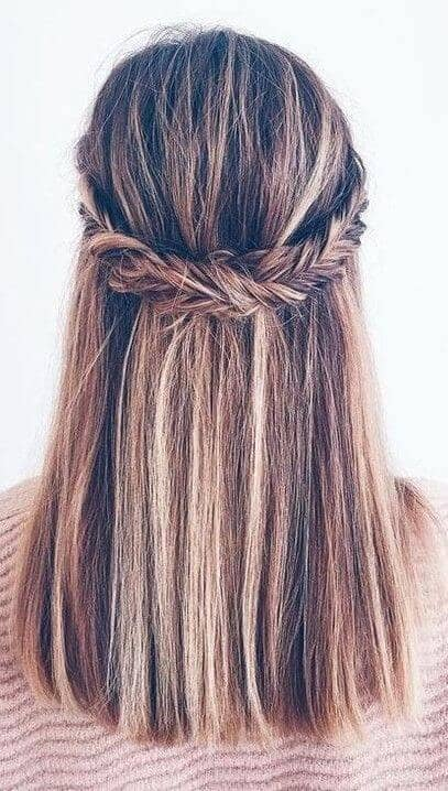 Keeping it Beautifully Simple- Highlighted with a Braid