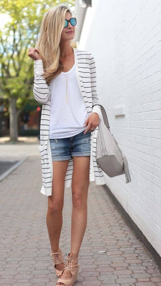 Espadrilles with Stripes for Summer