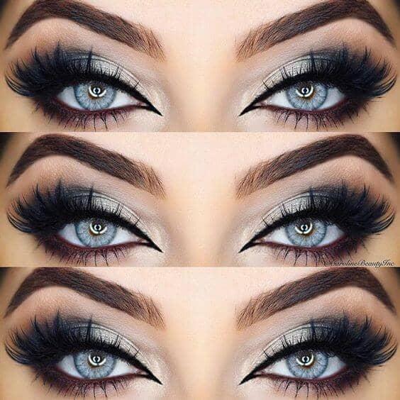 Blue Eyed Enchantress Statement Makeup