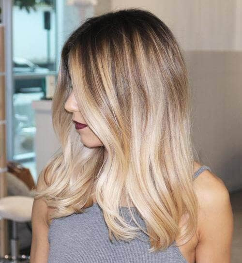 Head-turning Ombre Hair for Olive Skin