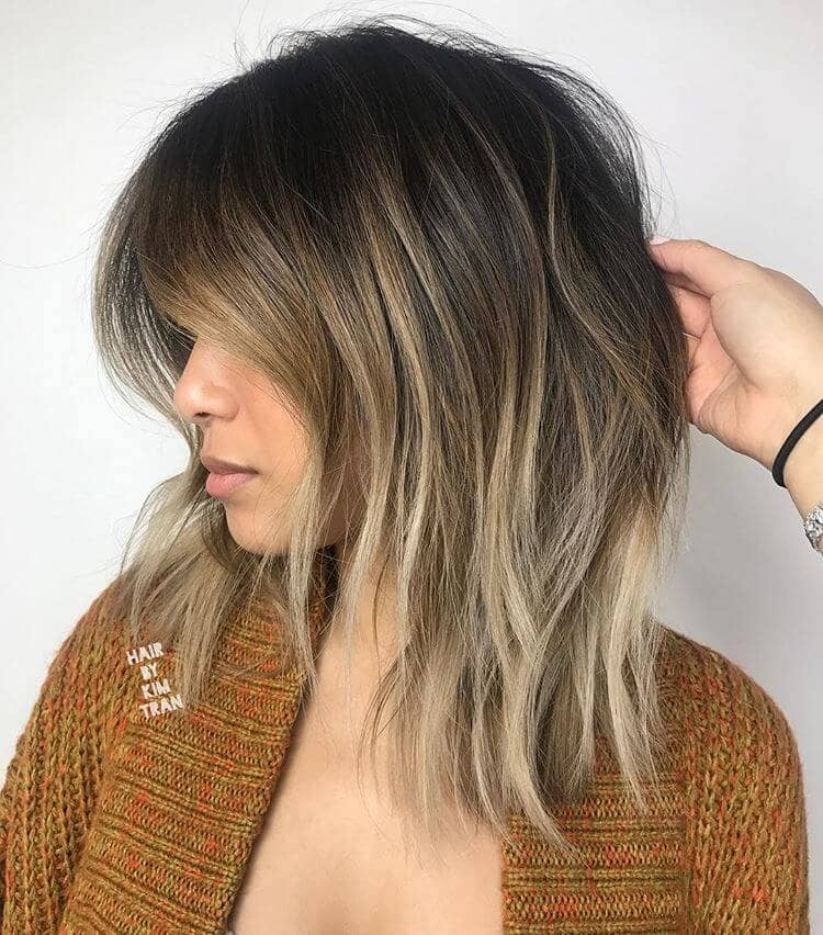 Medium Short Haircut for Fine Hair