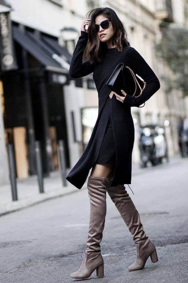 Urban Chic Little Black Dress