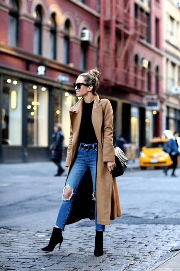 Free Spirited Camel Coat