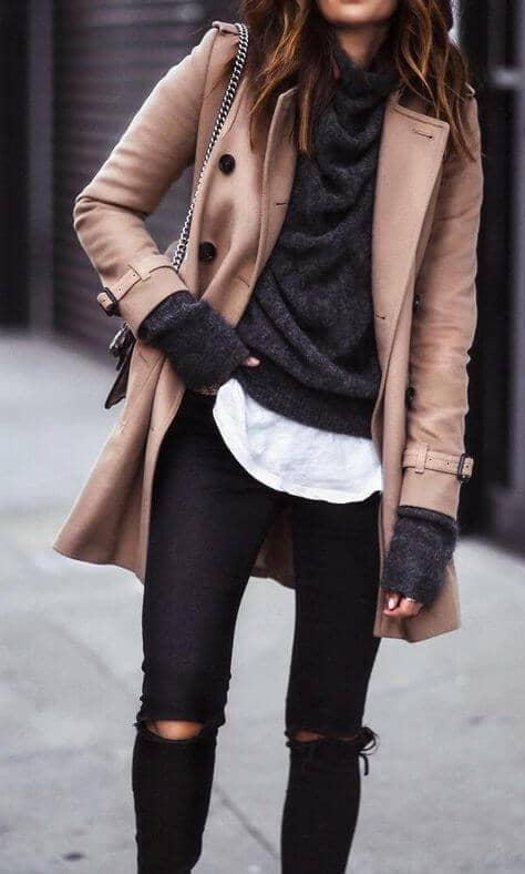 Warm, Dark Layers for Winter