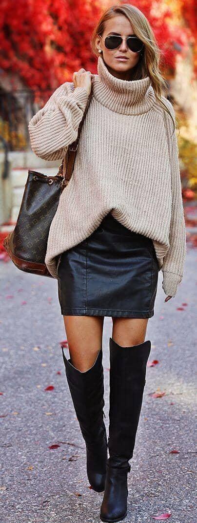 Big Sweater, Little Mini