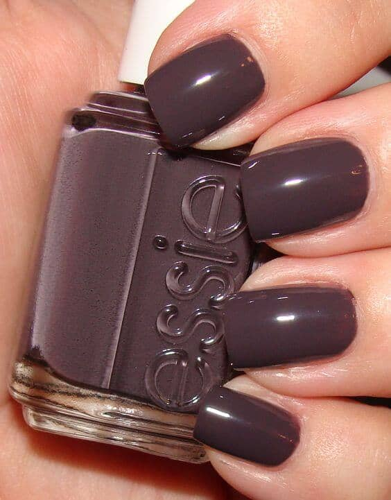 Dark Chocolate Nails