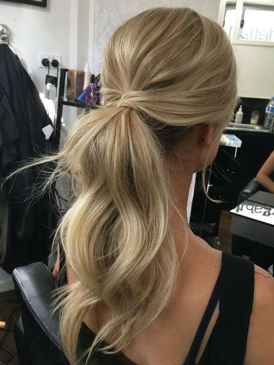 Wrap Around Ponytail