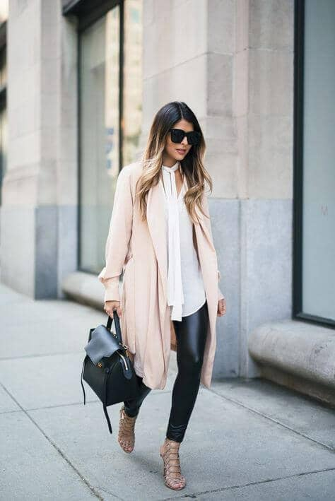 Peachy, Refined Winter Wear.