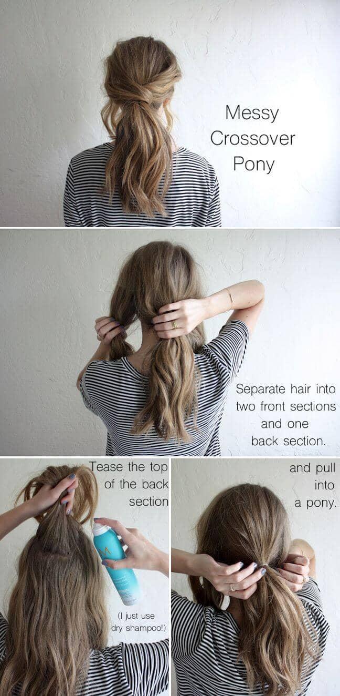 Easy Messy Crossover Pony Tutorial