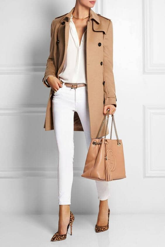 Styling Neutral Trenchcoat Outfits
