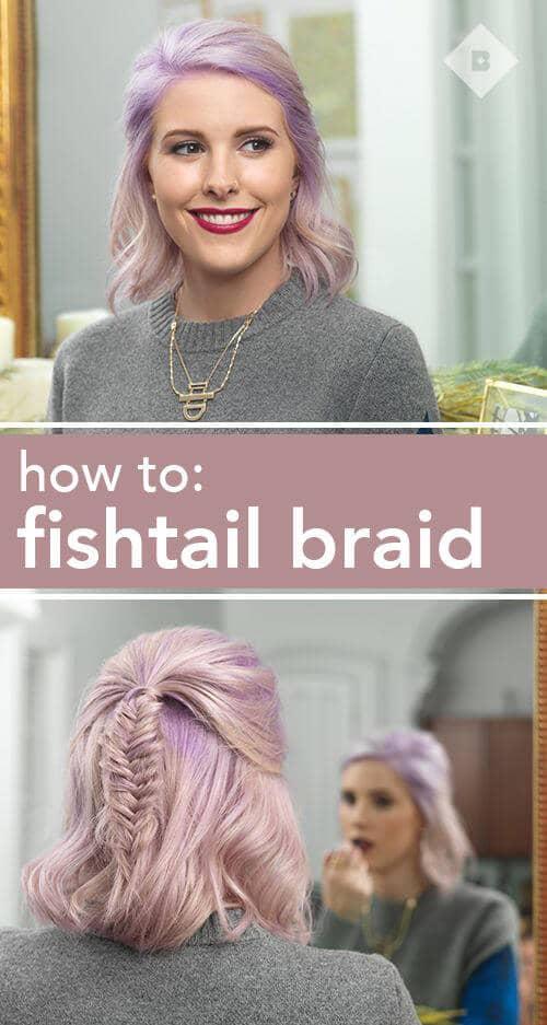 Classic Fishtail for Short Cuts