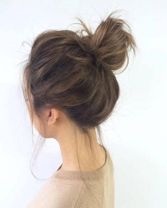 Loose Messy Bun For More Fun