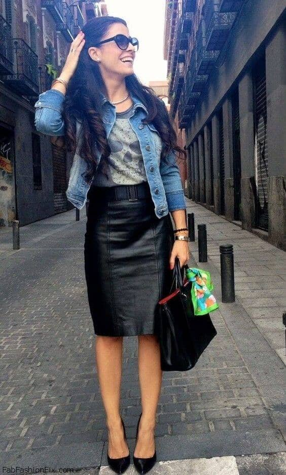 Not Your Mother's Pencil Skirt