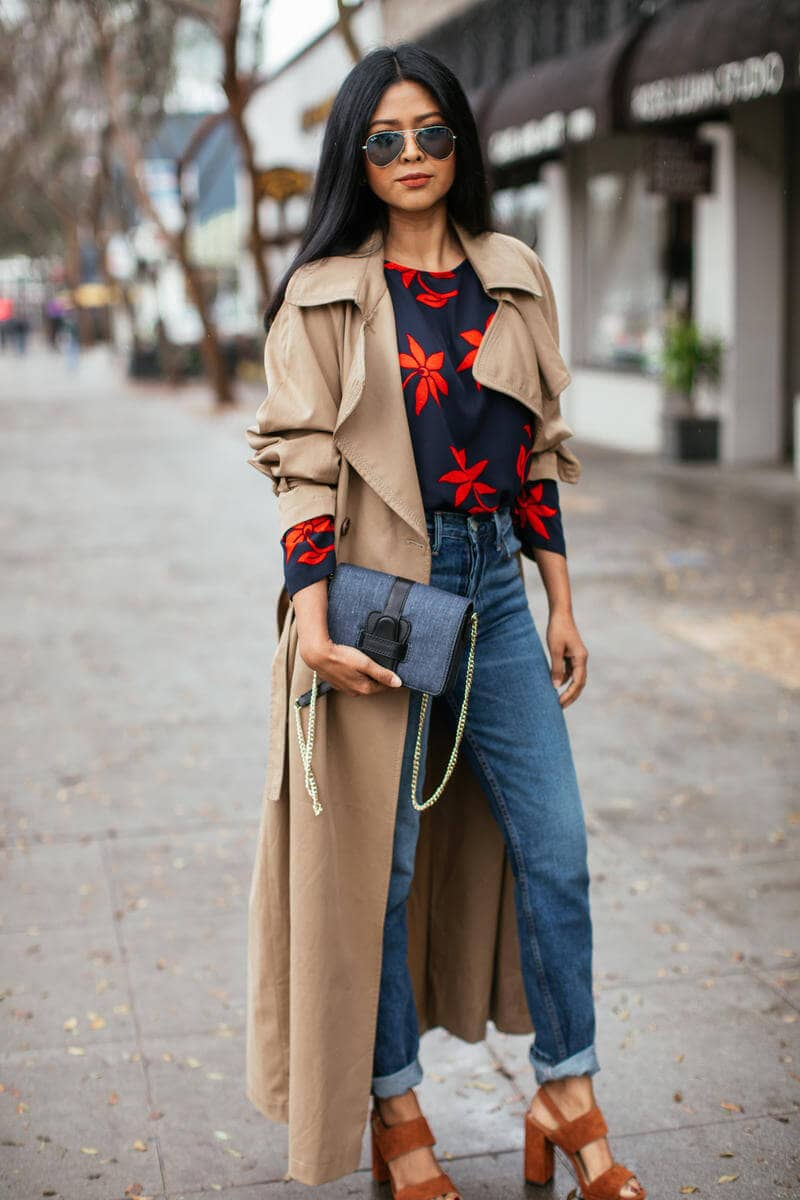 Pair With Sweaters For Bold, Fall-look