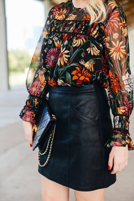 Boho Way to Wear Leather
