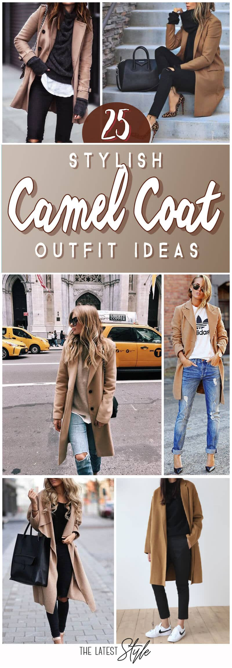25 Camel Coat Outfits to Stay Sexy and Warm this Winter