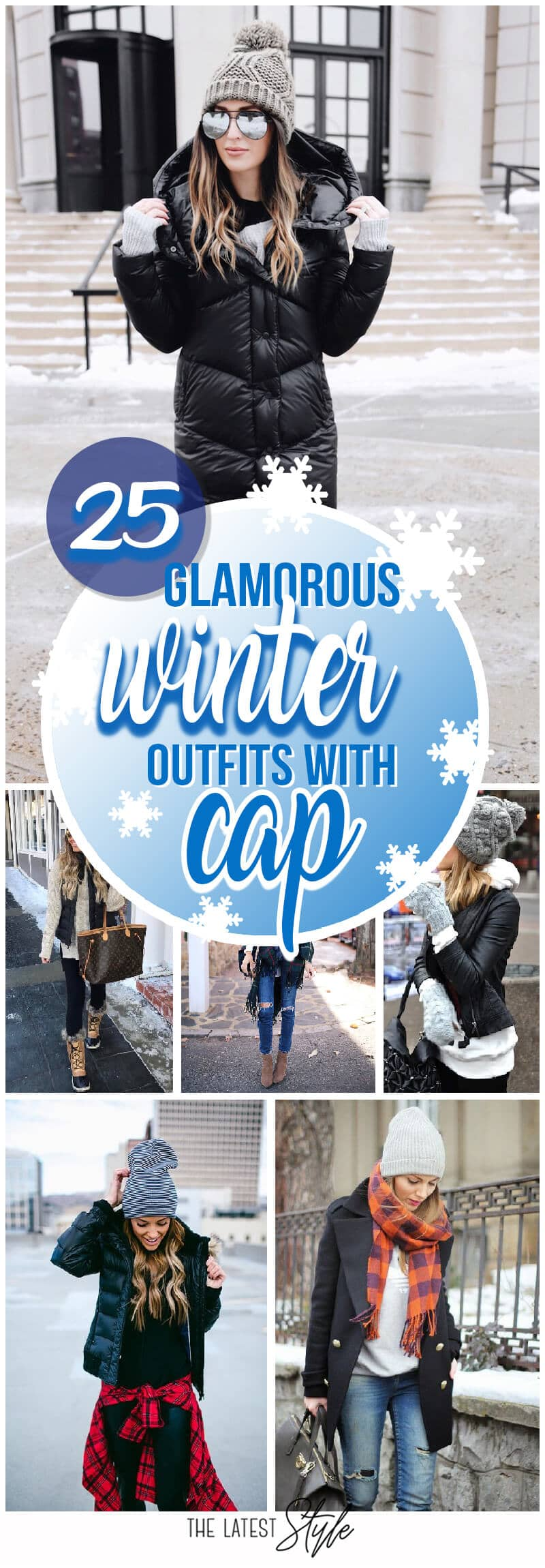 25 Winter Outfits With Cap that do More than Keep You Warm