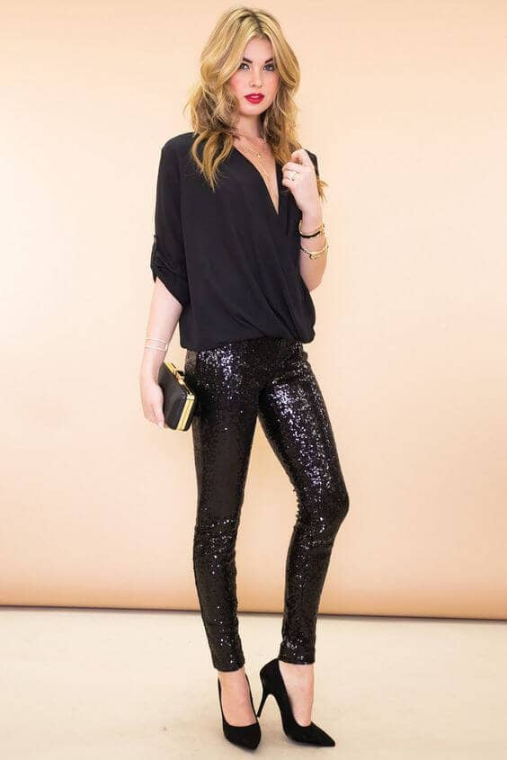 The Ultimate Sparkly Party Leggings