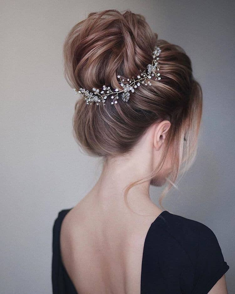 Full Festive Up-Do with Crown