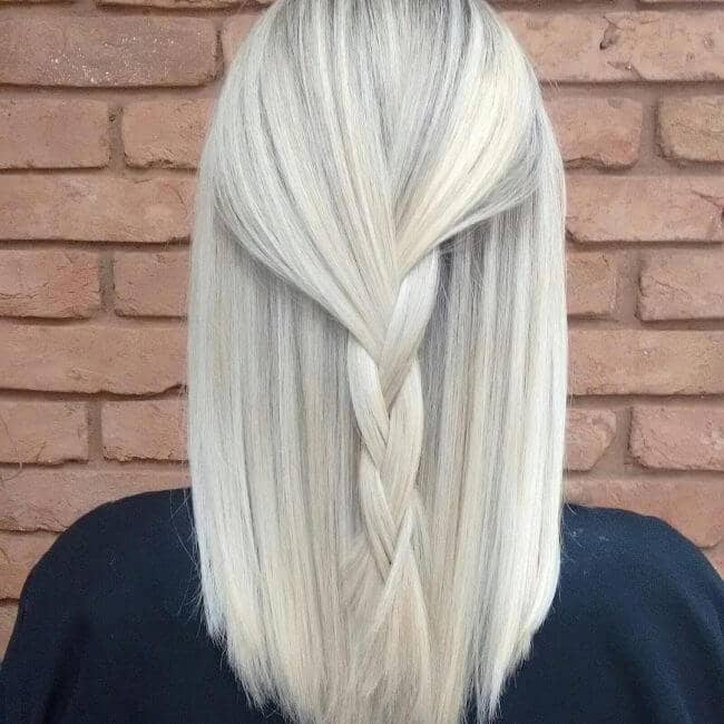 10 Second Half-Up Braid
