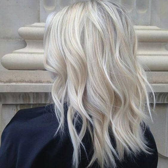 Frosty Blonde Bedhead Waves