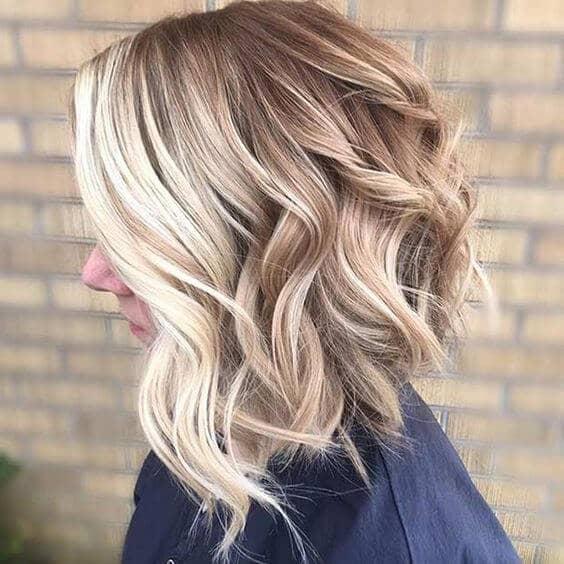 Molten Gold Cascading Curls