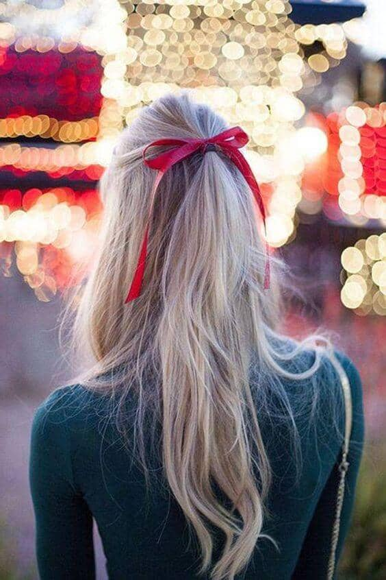 Tied With a Bow Hairstyle