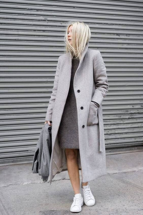 The Classic Dress And Trench Pair