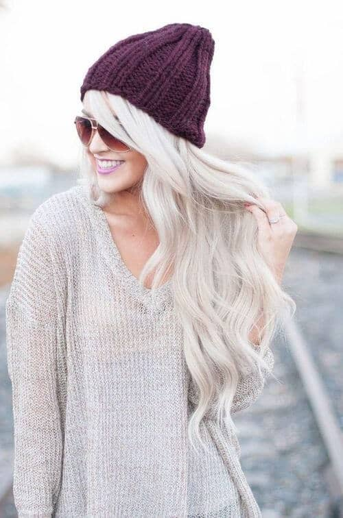 Boho Waves with Stocking Cap