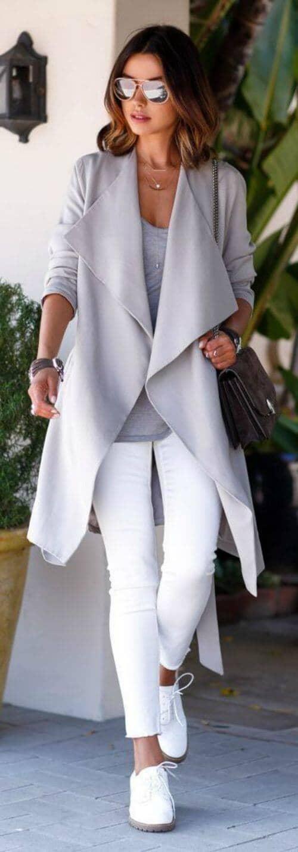 Look Clean Cut In White