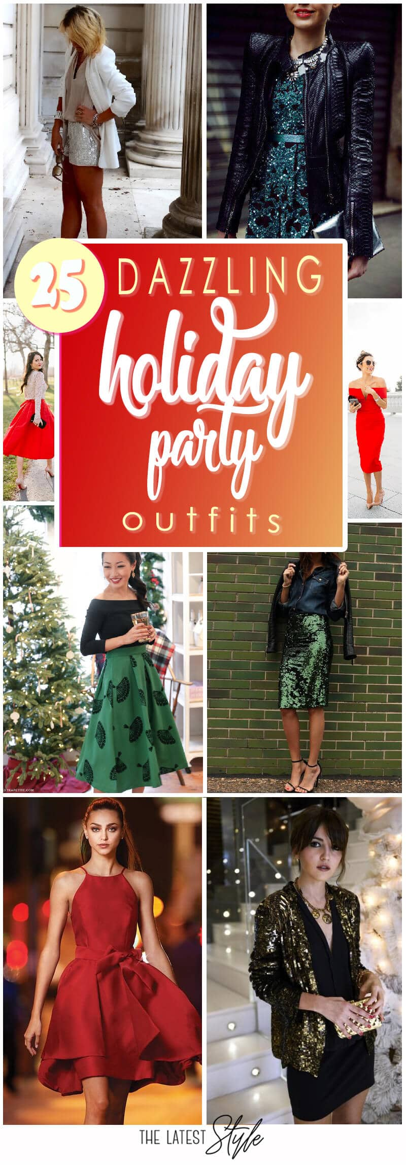 25 Glamorous Holiday Party Outfits Because You Deserve It