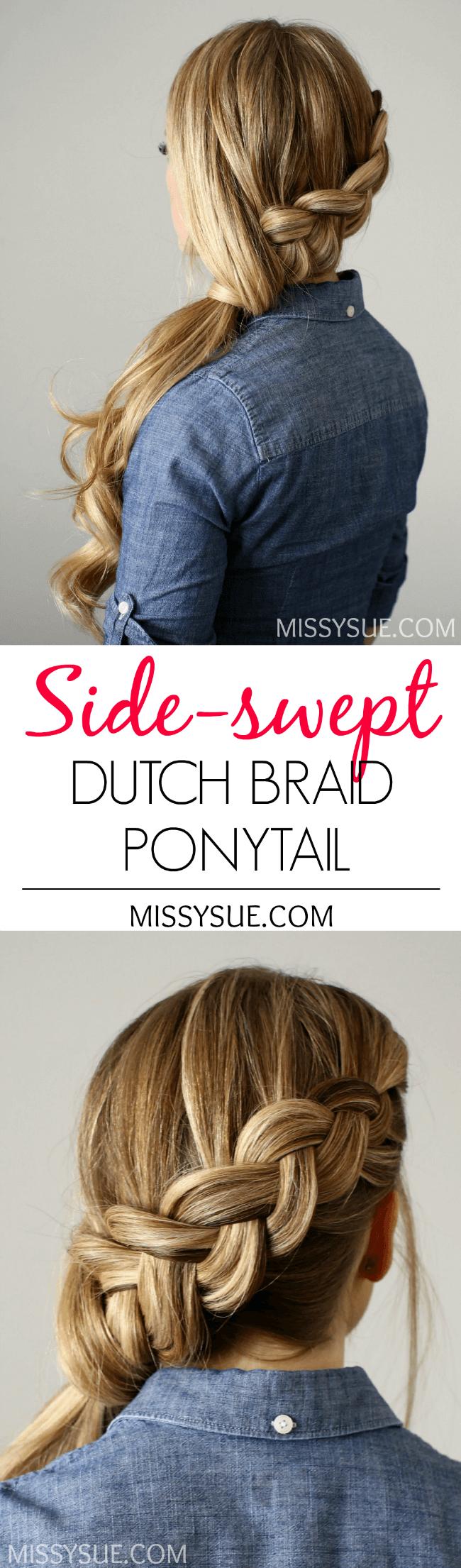 Chunky Dutch Side Pony