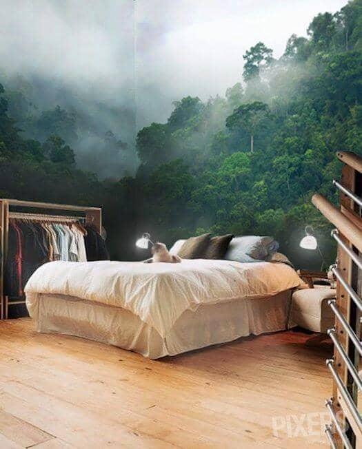 Wraparound Amazonian Wall Design Ideas