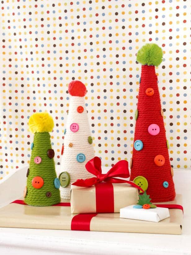 Comfy & Creative Christmas Cones