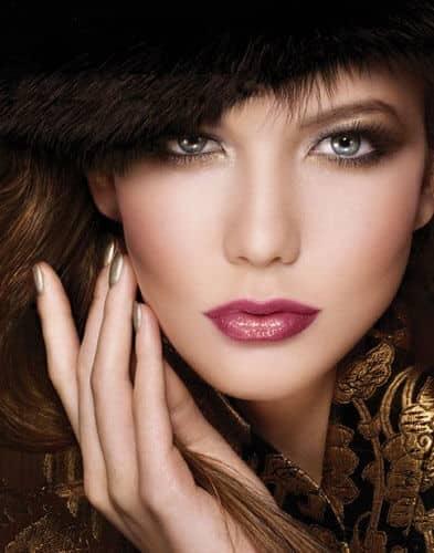 Smoky Eyes Plus Glossy Lips