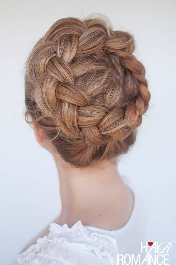 Loosened Braided Crown