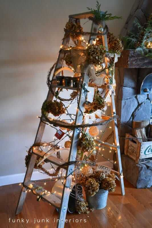 The Handyman's Christmas Ladder
