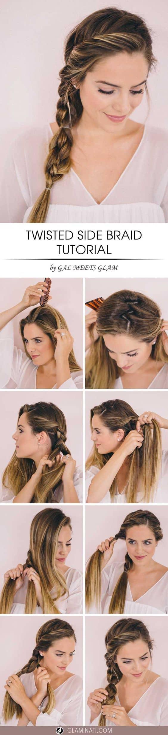 Simple Twist Braiding Technique