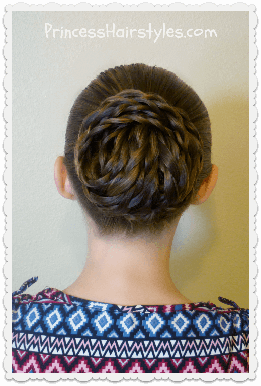 Precision Braided Bun