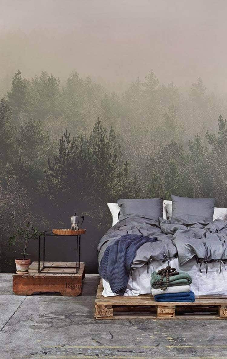 Wilderness Wall Design Ideas