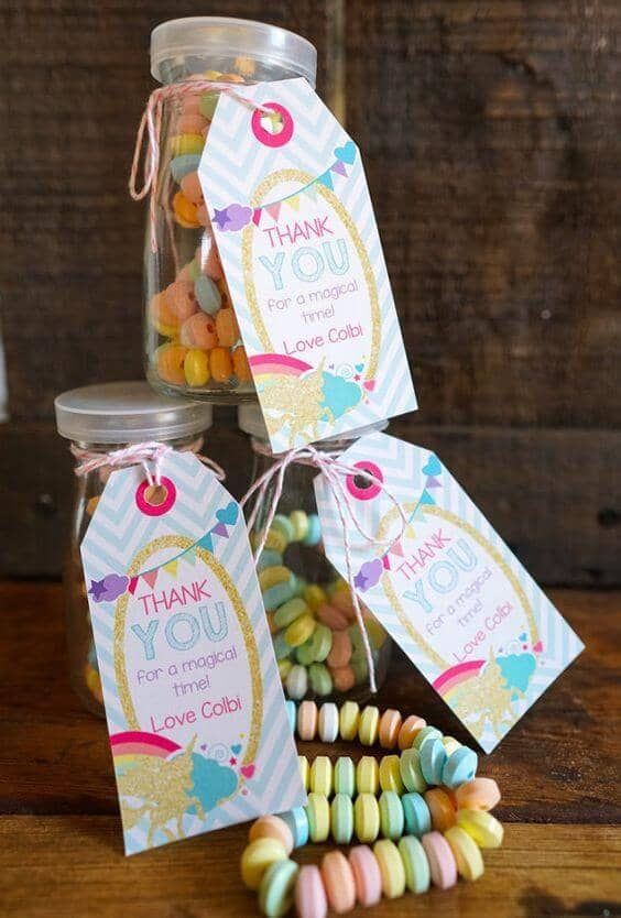 Candy Necklace Party Survival Kit