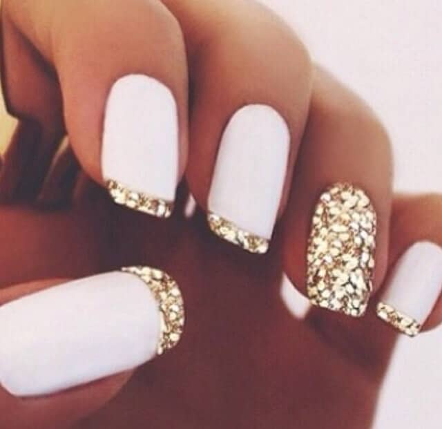 Fierce Gilded White Polish
