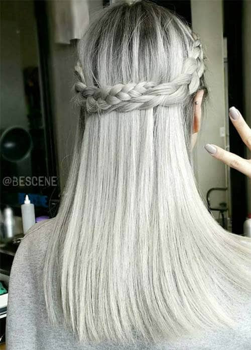 Platinum Silver Color
