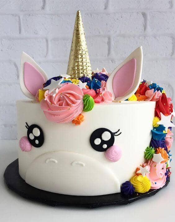 Magical Unicorn Princess Cake