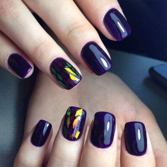Stained Glass Statement Nails