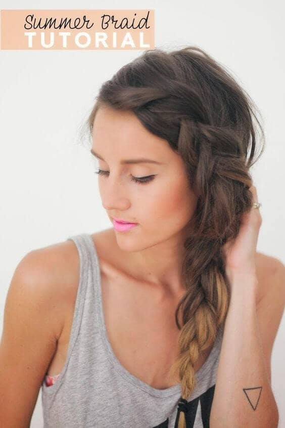 Your Go-To Summer Hairstyle