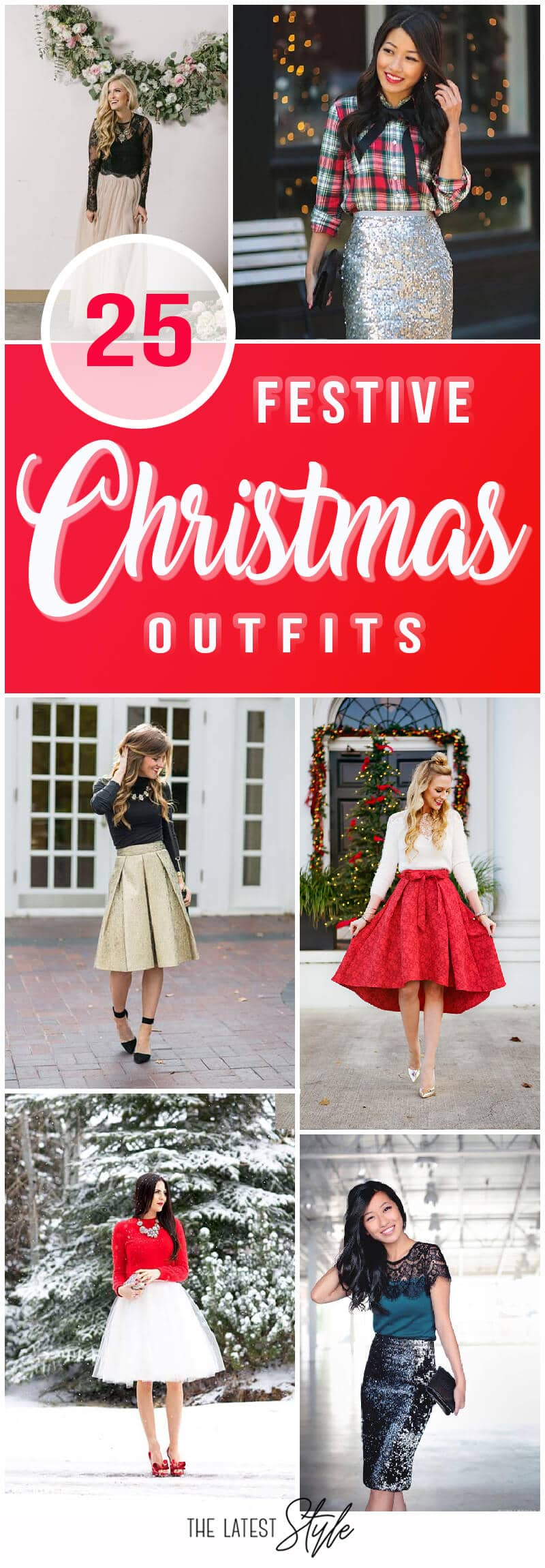 25 Stylish Outfits that are Absolutely Perfect for Christmas